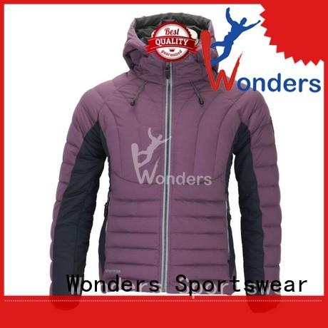 Wonders best price lightweight down parka men's supplier for promotion