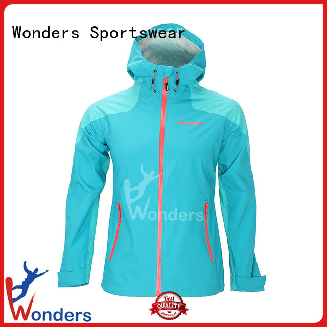 Wonders promotional breathable rain jacket womens company for promotion