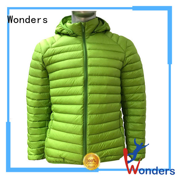 Wonders worldwide goose down jacket factory direct supply for promotion