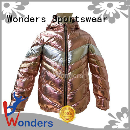 top womens padded puffer jacket series for sports