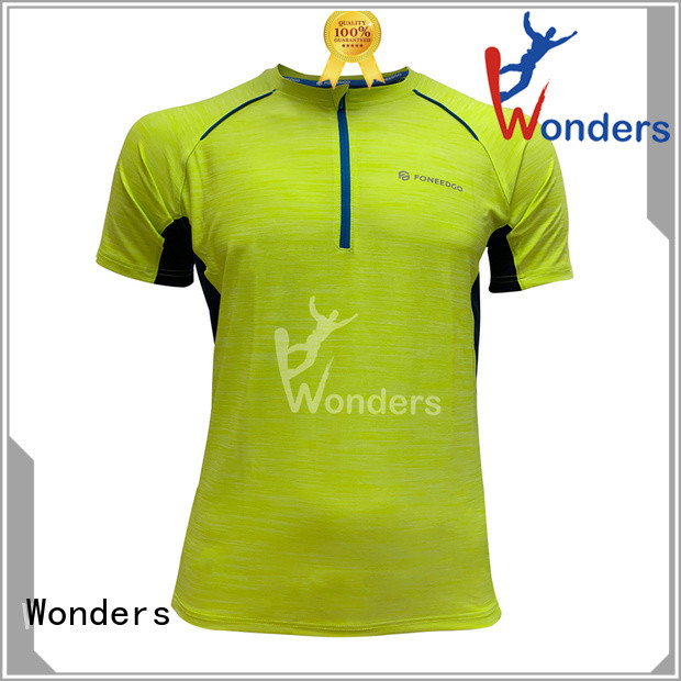 Wonders top running shirts wholesale bulk production