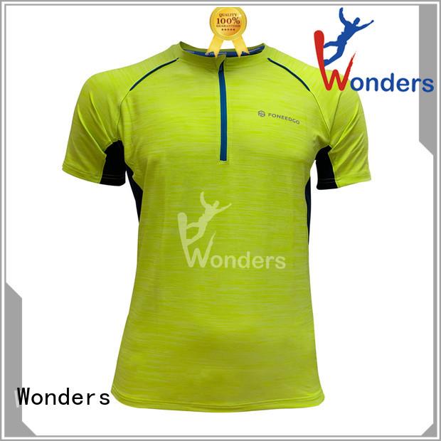 Wonders top running shirts wholesale bulk production