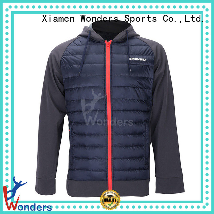 Wonders latest hybrid fleece jacket manufacturer to keep warming