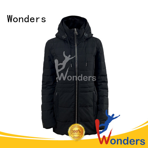 Wonders low-cost thick parka jacket series to keep warming