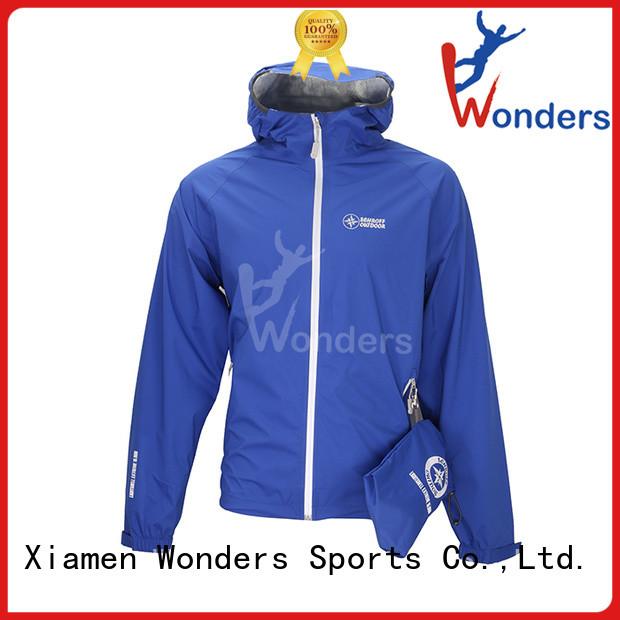 Wonders popular womens raincoat with hood best supplier to keep warming