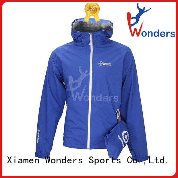 Wonders popular womens raincoat with hood best supplier to keep warming