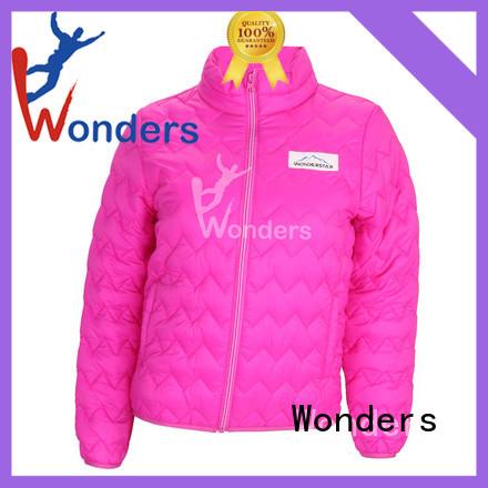 Wonders practical womens padded puffer jacket supply bulk buy
