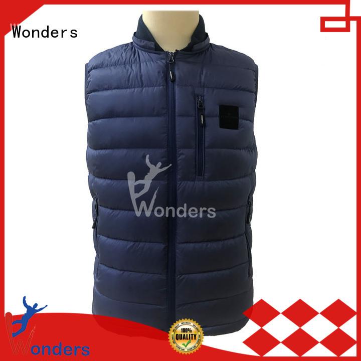 Wonders stylish vest supplier bulk production