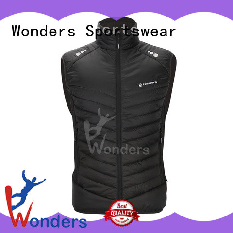 Wonders quilted vest manufacturer to keep warming