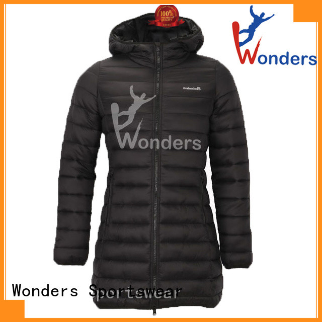 latest women's down parka with hood best supplier to keep warming