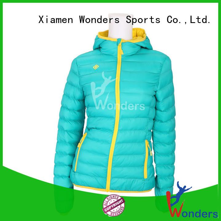Wonders slim fit padded jacket best manufacturer bulk production