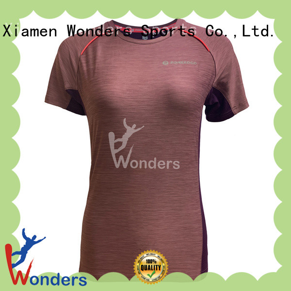 factory price personalised running t shirt factory direct supply for sports