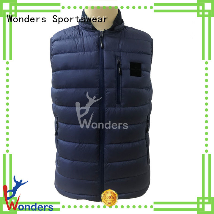 top quality mans vest suppliers to keep warming