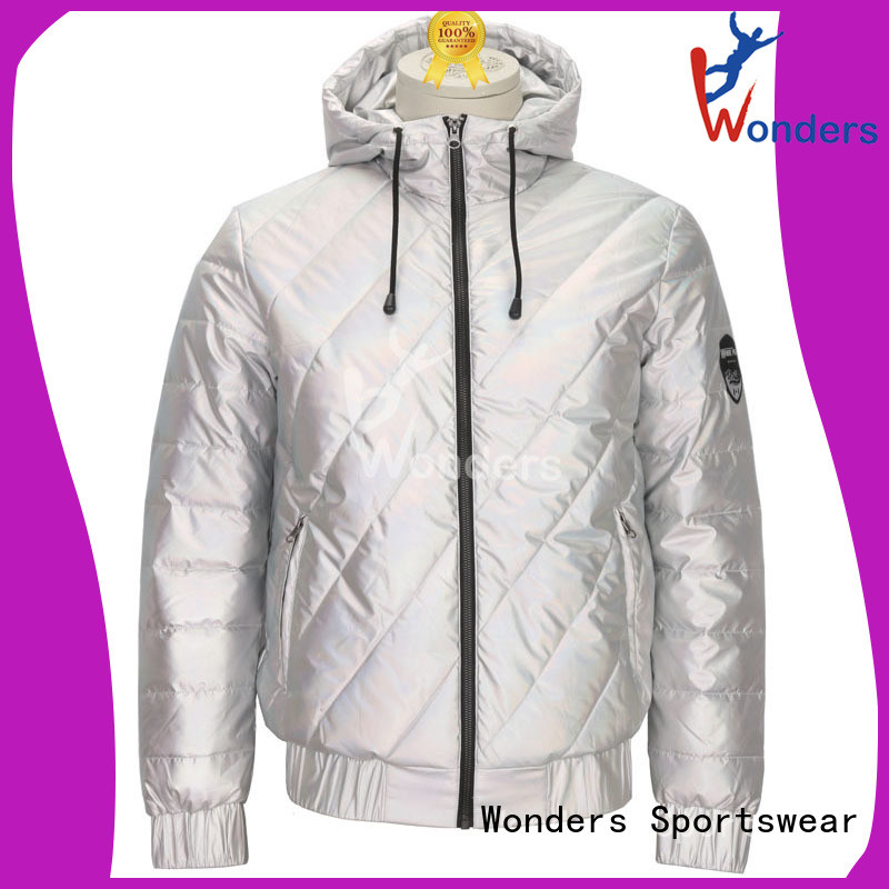 Wonders womens light padded jacket suppliers bulk production