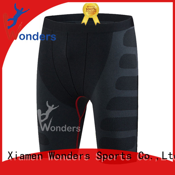 Wonders new black compression shorts factory for winte