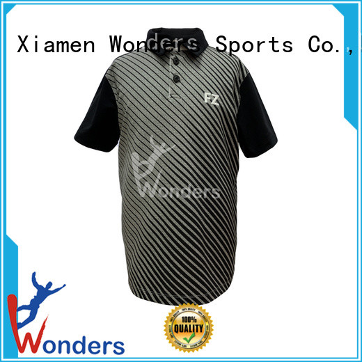 Wonders polo tee shirts mens personalized for outdoor