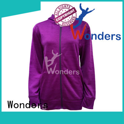 Wonders plain black zip up jacket for business for sports