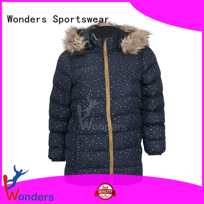 Wonders light padded jacket factory direct supply for promotion