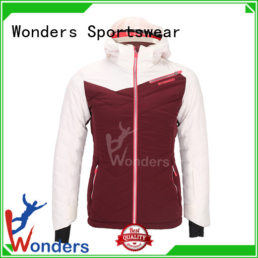 Wonders womens insulated ski jacket suppliers for outdoor