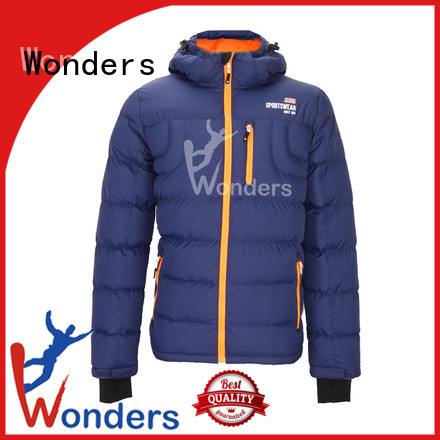 Wonders worldwide quilted padded jacket manufacturer for winte