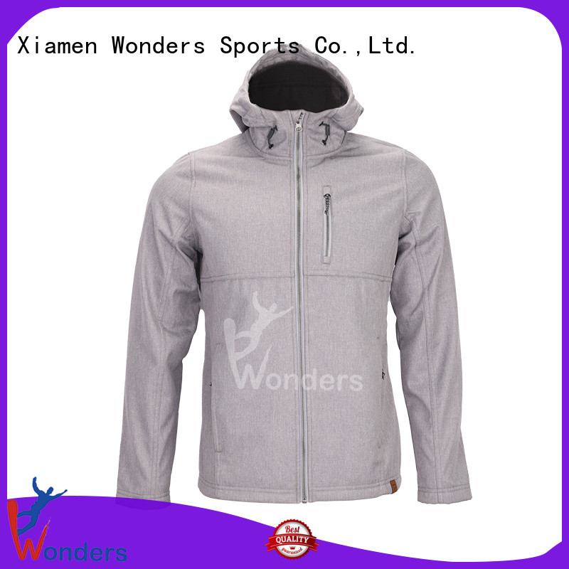 Wonders factory price windproof softshell jacket best manufacturer for winte