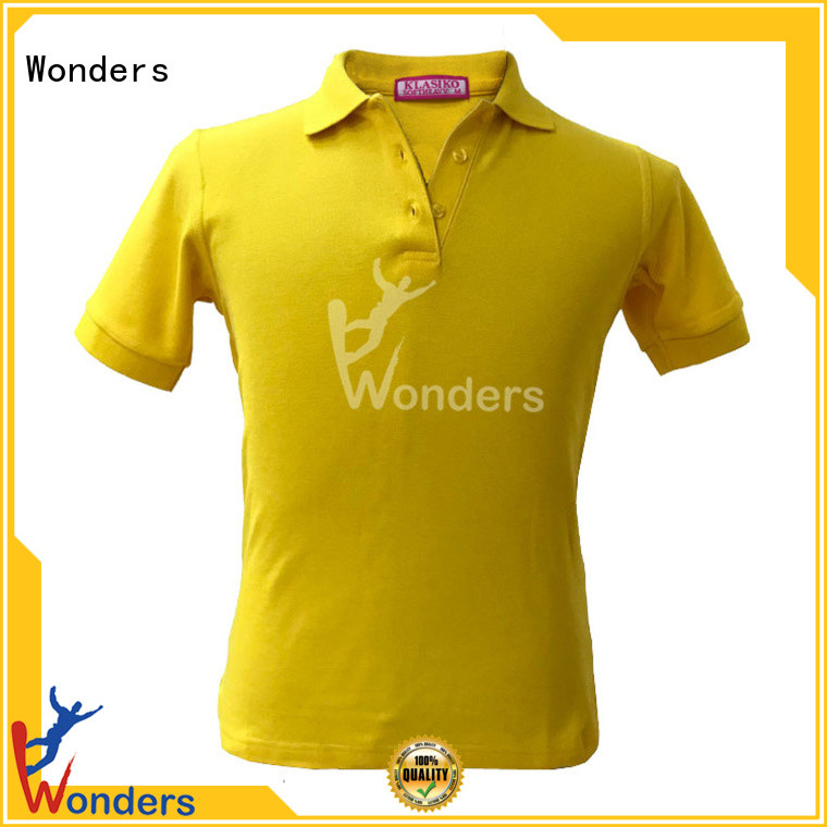 Wonders cool mens polo shirts directly sale bulk production