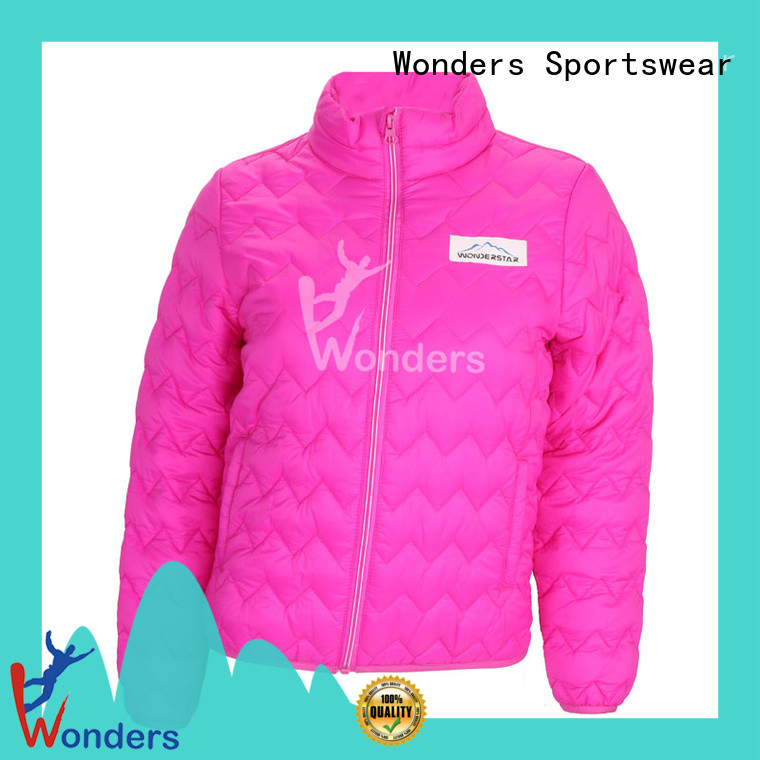 high quality ladies short padded jacket manufacturer to keep warming