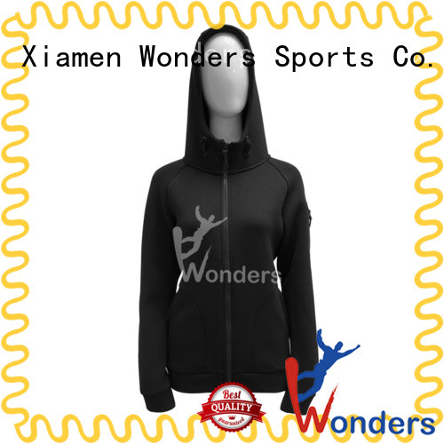 Wonders latest mens zip front hoodie supply for winte