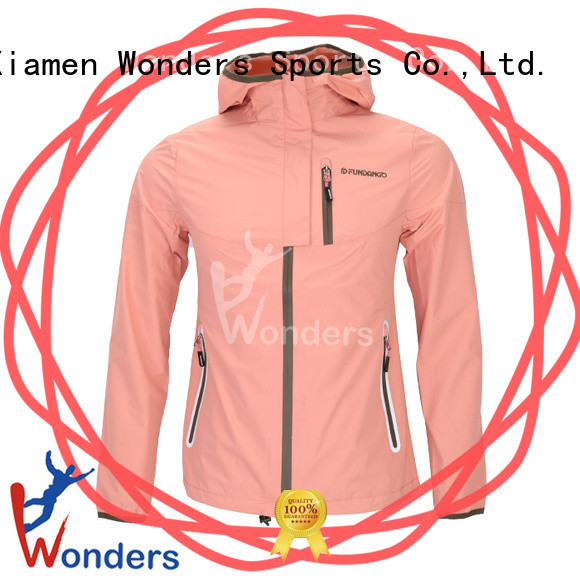 Wonders packable rain jacket best supplier bulk production