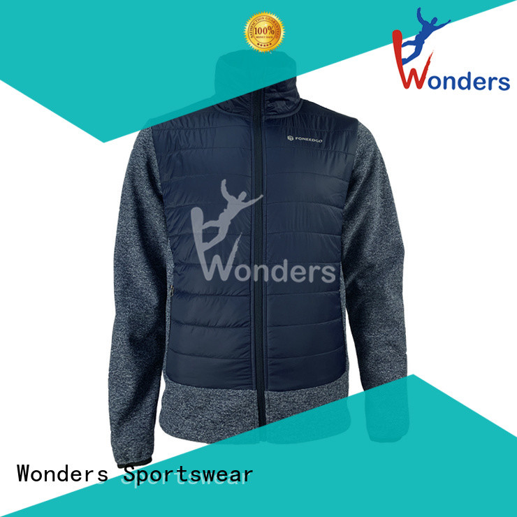 cheap hybrid jacket from China for outdoor