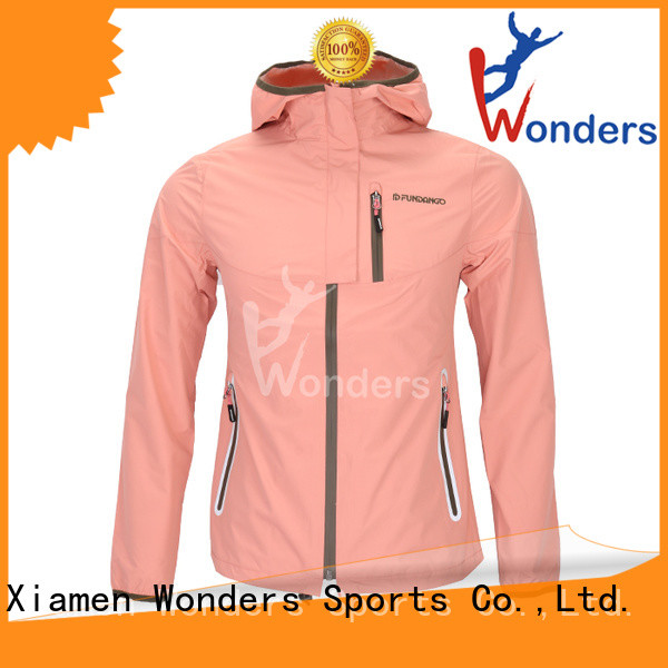Wonders reliable ladies rainproof jackets with good price for promotion