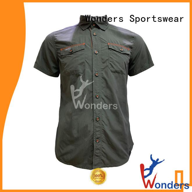 Wonders mens casual plaid shirts