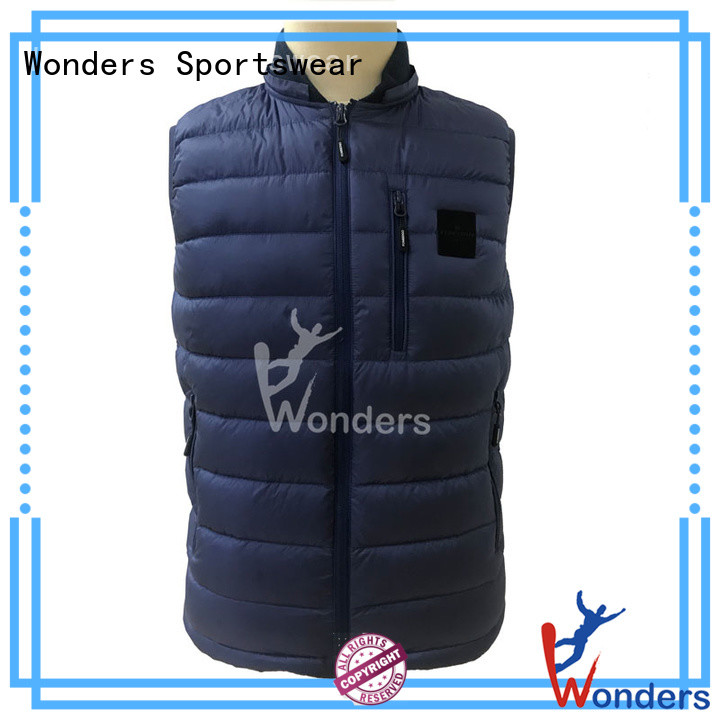 reliable sleeveless puffer vest supplier bulk buy