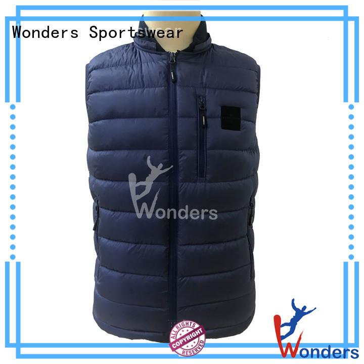 reliable sleeveless puffer vest supplier bulk buy