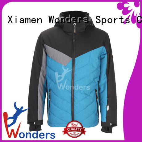 Wonders reliable ski shell jacket series for promotion