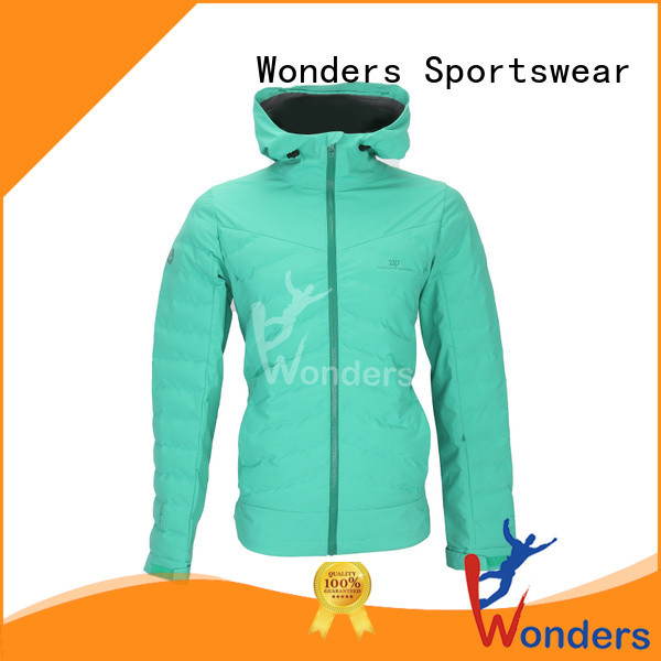 Wonders short padded jacket company for outdoor