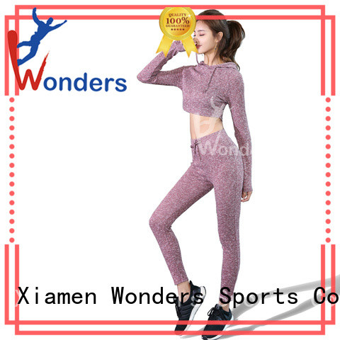 Wonders yoga workout clothes from China to keep warming