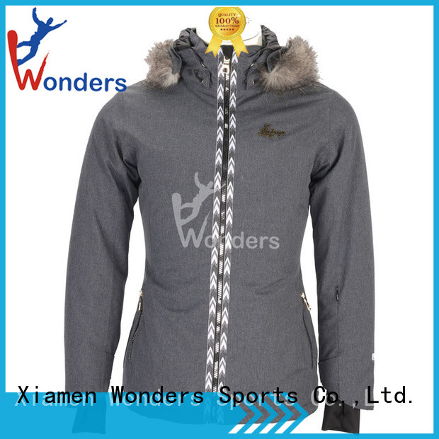 Wonders popular light ski jacket design bulk buy
