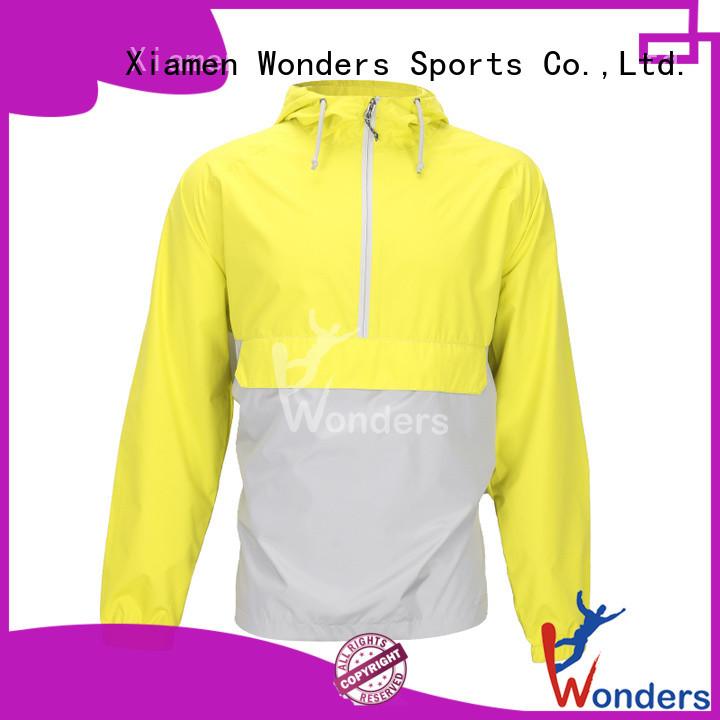 Wonders hot selling ladies waterproof rain jacket wholesale for sports