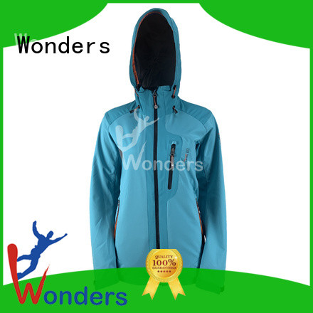 Wonders practical breathable softshell jacket factory for sale