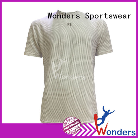 Wonders low-cost running shirts with good price bulk production