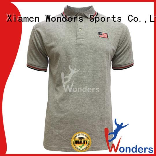Wonders best value cheap mens polo shirts personalized bulk production
