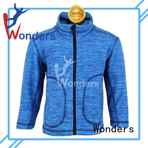 Wonders full zip fleece company for winte