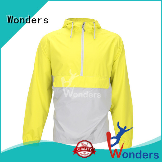 Wonders running rain jacket with good price bulk production