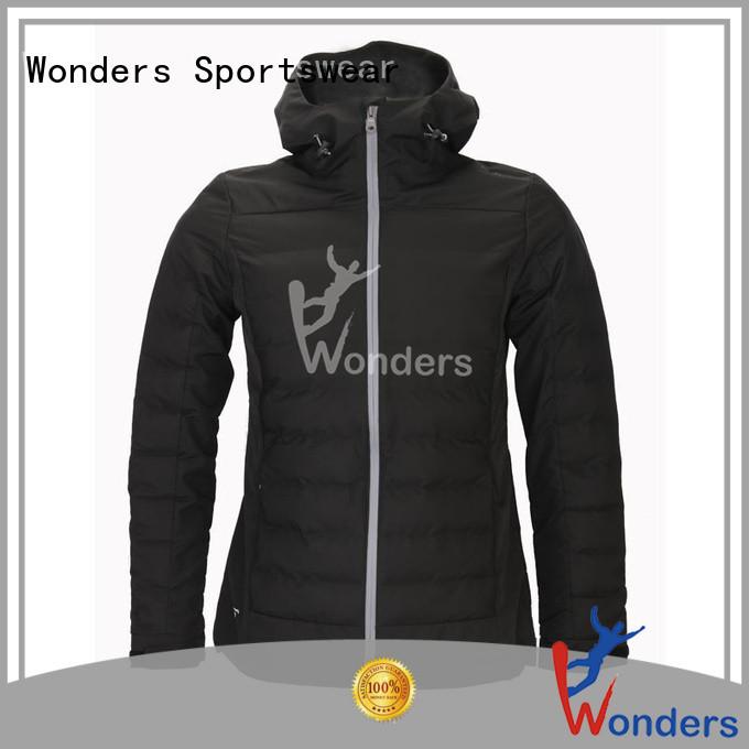 Wonders men's packable rain jacket design bulk production