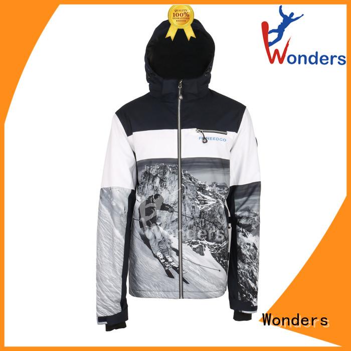 Wonders sky jacket personalized to keep warming