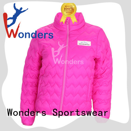 Wonders quality padded winter jacket wholesale to keep warming