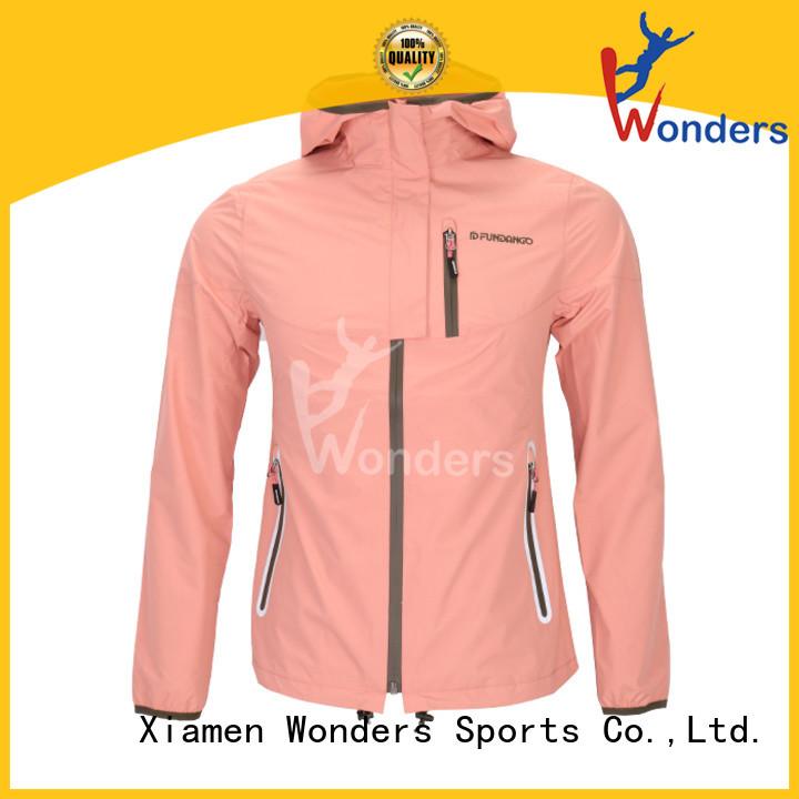 Wonders men's packable rain jacket personalized for outdoor