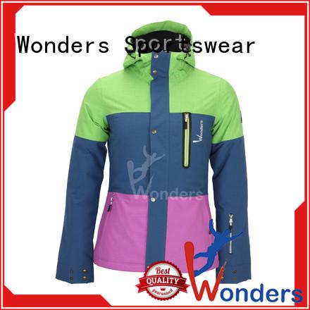 Wonders boys ski jacket supplier for sports