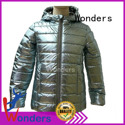 durable padded hooded jacket from China to keep warming